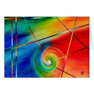 -抽象美術感情との推論 カード