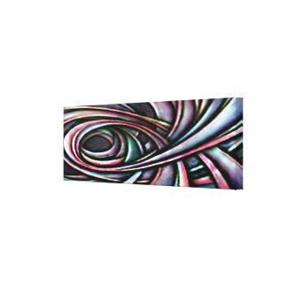 抽象美術色 キャンバスプリント