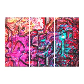 抽象美術140 キャンバスプリント