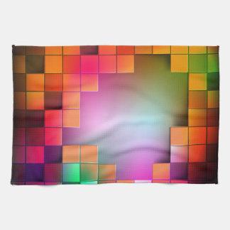 抽象美術19の台所タオル キッチンタオル