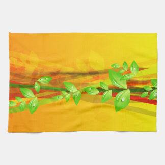 抽象美術23の台所タオル キッチンタオル