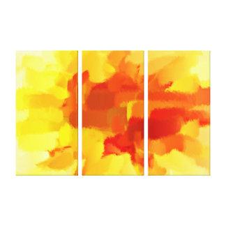 抽象美術 の抽象的な絵画7 キャンバスプリント