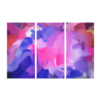 抽象美術|の抽象的な絵画8 キャンバスプリント