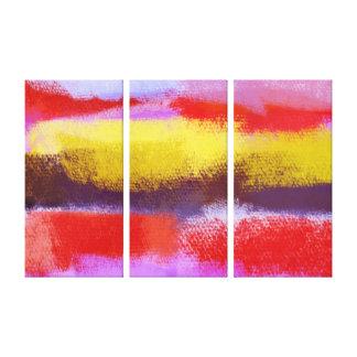 抽象美術|の抽象的な絵画 キャンバスプリント