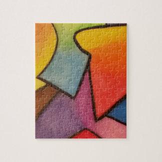 抽象美術 ジグソーパズル