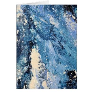抽象美術-フロストの命とり カード
