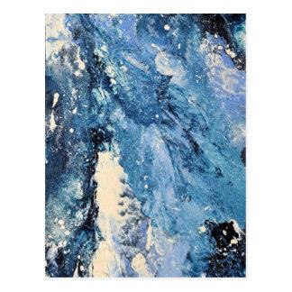 抽象美術-フロストの命とり ポストカード