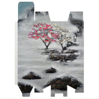抽象美術-ワイン用ギフトボックスの霧 ワインギフトボックス