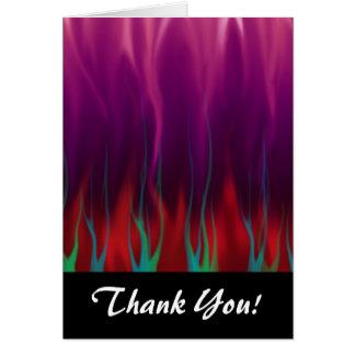 抽象美術-火-炎 カード