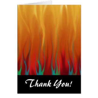 抽象美術-火-背景の炎 カード