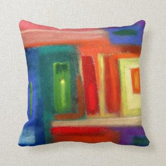 抽象美術、窓 クッション