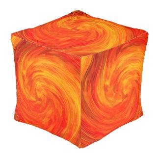 抽象芸術によって着色される渦巻の芸術の背景#14 プーフ