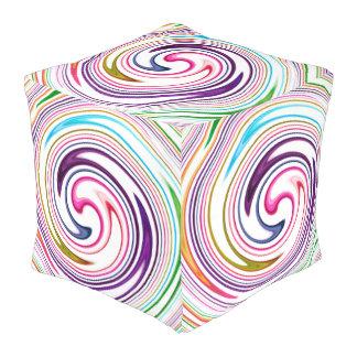 抽象芸術によって着色される渦巻の芸術の背景#48 プーフ