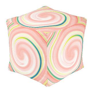 抽象芸術によって着色される渦巻の芸術の背景#6 プーフ