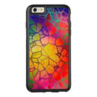 抽象芸術のステンドグラスの白熱 オッターボックスiPhone 6/6S PLUSケース