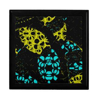 抽象芸術の円のgiftbox ギフトボックス