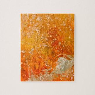 抽象芸術の写真のパズル意識の流れ ジグソーパズル