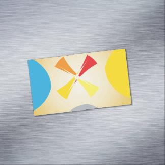抽象芸術の形の磁気名刺 マグネット名刺