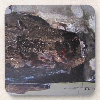 抽象芸術の形No.1 11.3 x 18 飲み物コースター