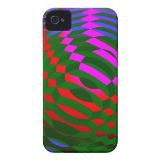 抽象芸術の立方体のiphone 4ケース Case-Mate iPhone 4 ケース