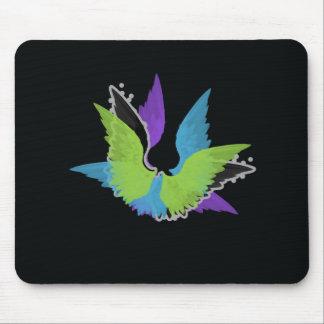 抽象芸術の翼のマウスパッド マウスパッド