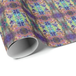 抽象芸術の色のデザイン ラッピングペーパー