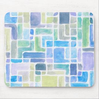 抽象芸術の色彩の鮮やかな水彩画の背景 マウスパッド