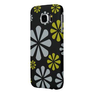 抽象芸術の花の電話箱 SAMSUNG GALAXY S6 ケース