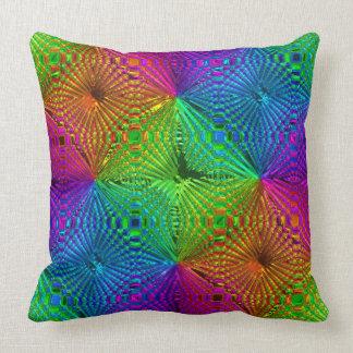 抽象芸術は3つの枕を模造します クッション