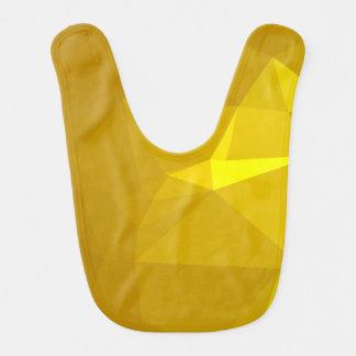 抽象芸術及びモダンな幾何学的設計-装甲握りこぶし ベビービブ