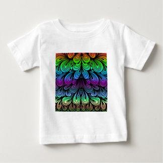 抽象芸術折目背景Colorized ベビーTシャツ
