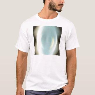 抽象芸術色のスポットライト Tシャツ
