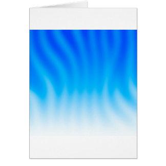 抽象芸術色の青熱 グリーティングカード