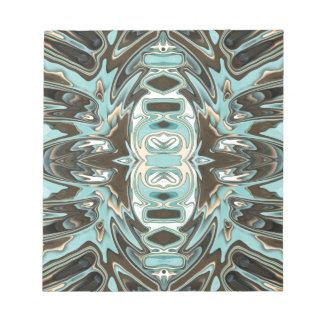 抽象芸術2の層 ノートパッド