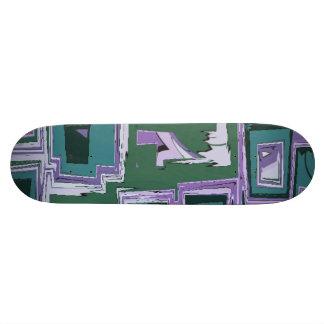 抽象芸術28 スケートボード