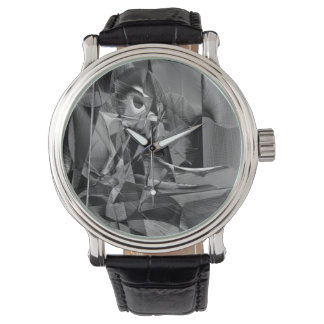 抽象芸術9639 腕時計