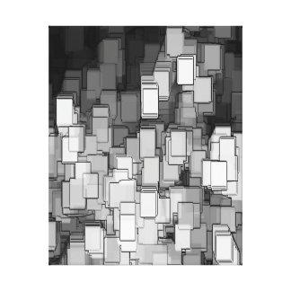 抽象芸術 キャンバスプリント