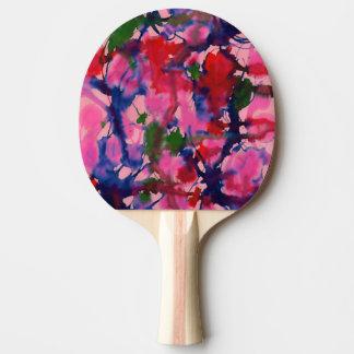 抽象芸術 卓球ラケット
