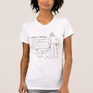 拒絶されたアイディア: 2カッコいい4 Skool Tシャツ