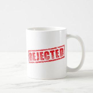 拒絶されたゴム印のイメージ コーヒーマグカップ
