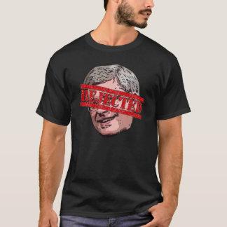 拒絶されるハープ奏者 Tシャツ