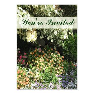 招待されましたの花園 カード