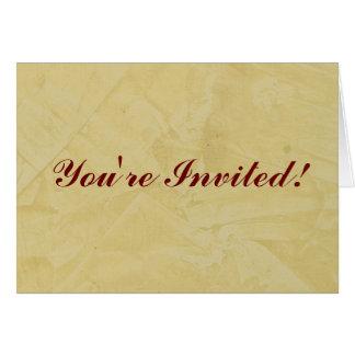 招待されました! トスカナ式の日曜日 カード