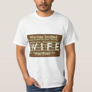 招待される妻の心配2011年   1月12日の間 Tシャツ