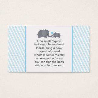 招待のための少しピーナツ本の要求カード 名刺