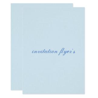 招待のフライヤ カード