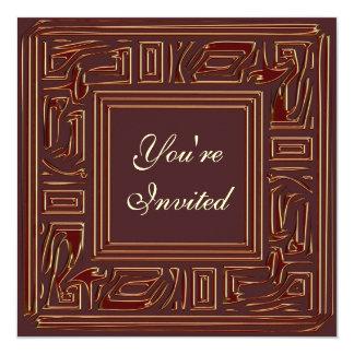 招待新年のパーティーの カード