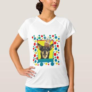 招待状のカップケーキ-オーストラリアのケルピー-ジュード Tシャツ