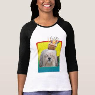 招待状のカップケーキ- Lowchen Tシャツ