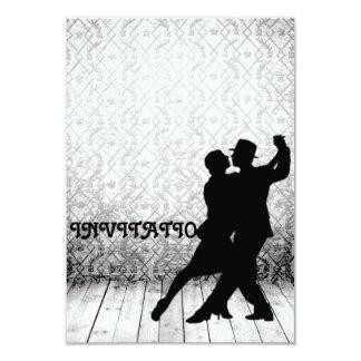 招待状のタンゴのフラメンコのラテン系のダンス カード